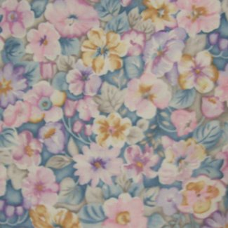multicolor floral fabric