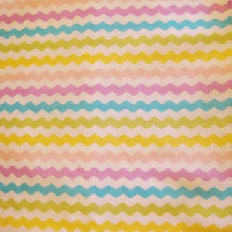 rick rack stripe fabric