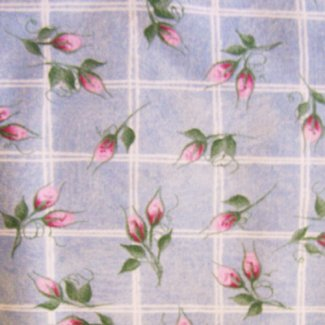 small pink rose bud fabric