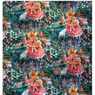 sweet little angels fabric