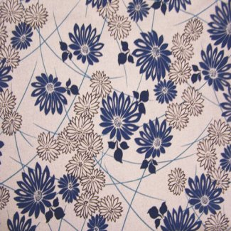 retro flower fabric 2289