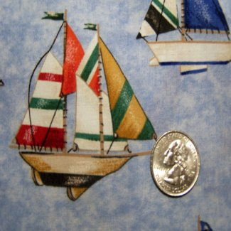 sailboat fabric