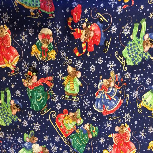 Twas The Night Before Christmas Fabric