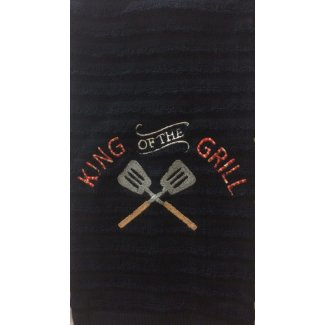 king grill embroidered barbecue towel